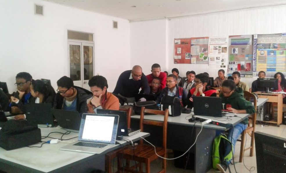 Madagascar Astronomy Python Workshop 2017. Credit: IAU Office of Astronomy for Development archive